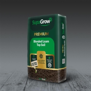 SupaGrow Blended Loam Sealed Bags 20L