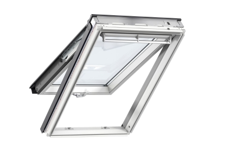 VELUX Top Hung Roof Window White Painted 550mm x 980mm GPL CK04 2070