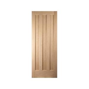 Oregon Aston 3 Panel Interior White Oak Door
