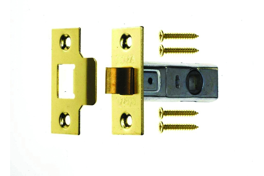 4Trade Tubular Mortice Latch 64mm Brass