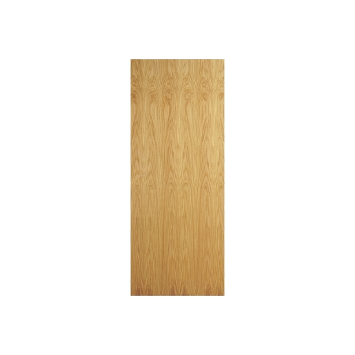Internal Oak Flush Veneer 30 Min Fire Door 1981 x 838 x 44mm