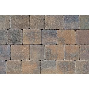 Tobermore Tegula Decorative Concrete Block Paving in Bracken - 140x140x50mm