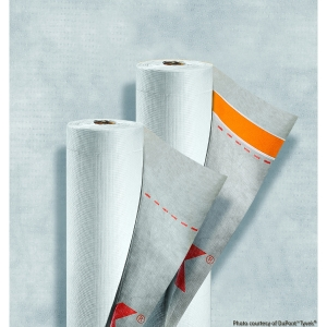 """Tyvek® Supro Plus, with integral tape, Breather Membrane 1.5m x 50m"""""""