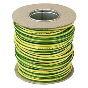 Pitacs Single Core Cable Green/yellow 6491 X 10mm 50m