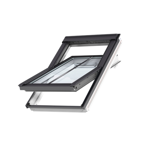 VELUX Centre Pivot Roof Window White Painted 550mm x 780mm GGL CK02 2070