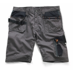 Scruffs Slate Trade Short 32inW