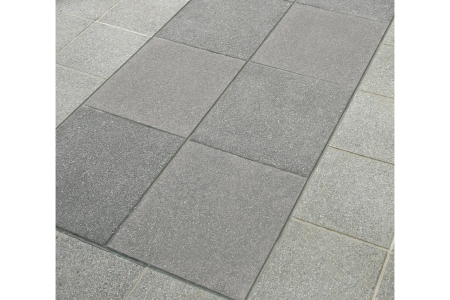 Marshalls Argent Paving Dark Smooth Paving Slab 400x400x38mm Pack of 60