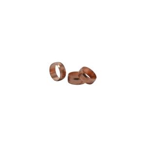 4Trade 15mm Copper Olives (Pack of 10)
