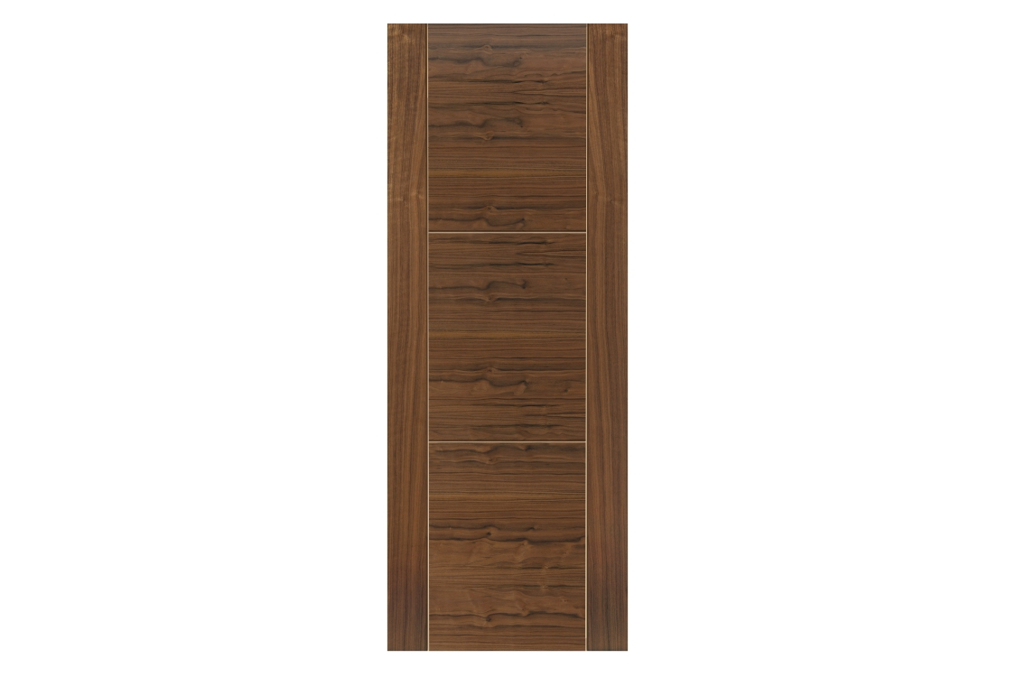 Jb Kind Walnut Mistral Prefinished Internal Door 35 x 1981 x 610mm