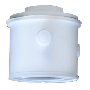 Ideal Boilers Ideal 208175 Logic Flue Vertical Connector