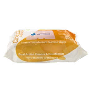 Uniwipe Clinical Disinfectant Midi Wipes 200 Pack