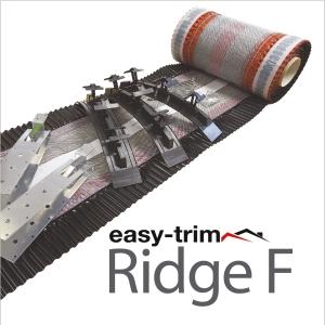 Easy Trim Easyridge Plus 10m Dryfix Ridgekit Black