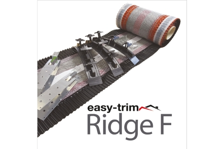 Easy Trim Easyridge Plus 10m Dryfix Ridgekit Black