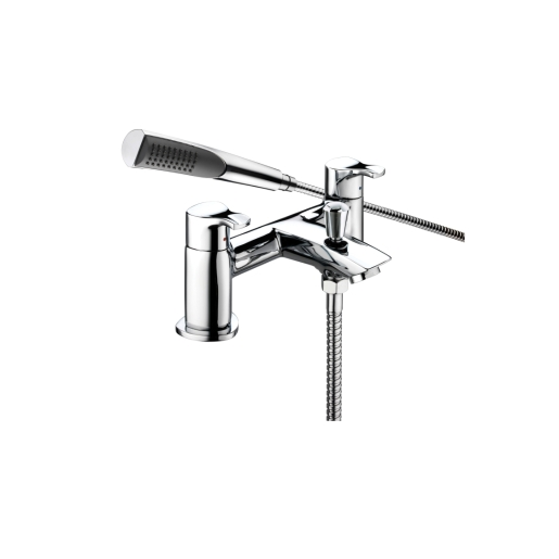 Bristan Capri Contemprorary Bath Shower Mixer Tap Chrome