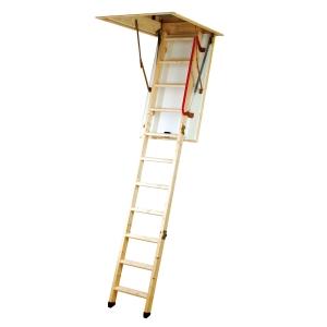 Youngman Eco S Line Folding Timber Loft Ladder