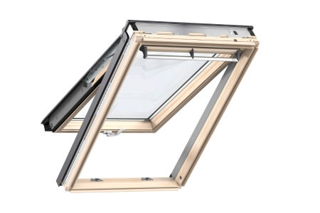 VELUX Top Hung Roof Window 780mm x 1400mm Pine GPL MK08 3070