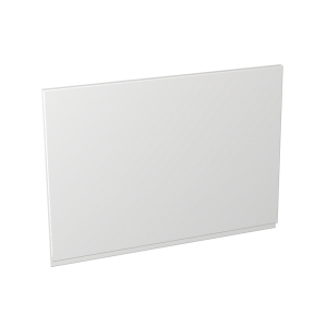 Madison Gloss White 600 x 437mm Appliance Fascia