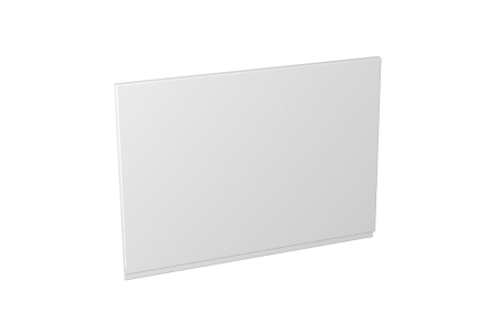 Self Assembly Kitchens Madison White 600x437 Cooker Hood Fascia