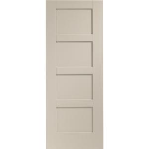 Internal Fully Finished Shaker 4 Panel Door (Isabella)