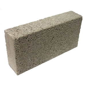 Solid Medium Density 3.6N Concrete Block 100mm