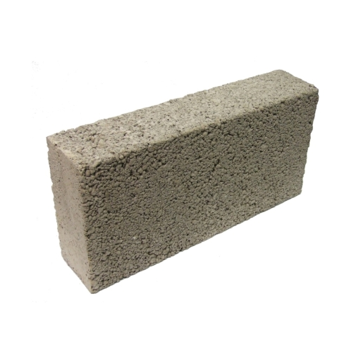Solid Medium Density 3.6N Concrete Block 100mm