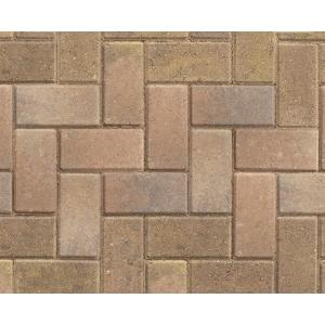 Marshalls Standard Concrete Block Paving Bracken 200x100x50mm Pack of 488