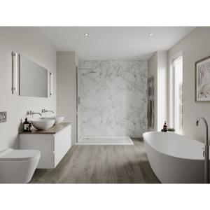 Multipanel Linda Barker Bathroom Wall Panel Hydrolock Bianca Luna 3421