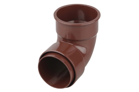 Osma RoundLine 0T161 Pipe Bend 87.5° 68mm Brown