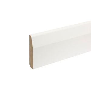 MDF Painted TRUprofile Pencil/chamfered Round Skirting 18 X 94 X 4.4m