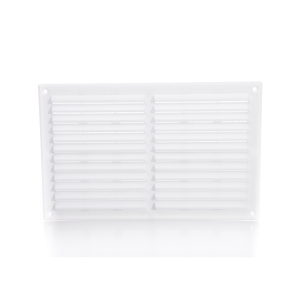 Rytons Building Products Ltd '9 x 6' Louvre Ventilator with Flyscreen - White