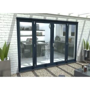 54mm Grey French Vestibule Door Set