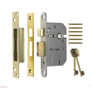 Era 302-62 Viscount 5 Lever Sashlock Chrome 75mm