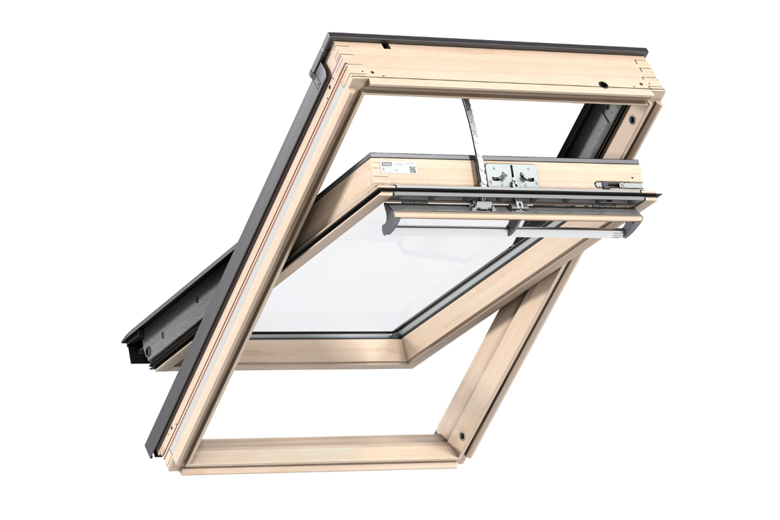 VELUX INTEGRA Roof Window Lacquered Pine 550mm x 780mm GGL CK02 307021U