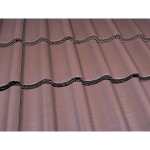 Marley Mendip Roofing Tile Smooth Brown - Pallet of 192