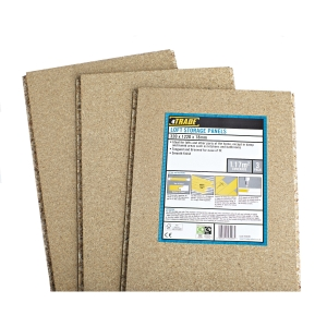 Chipboard Tongue and Grooved Loft Flooring Panel 18mm x 1220mm x 320mm Pack of 3