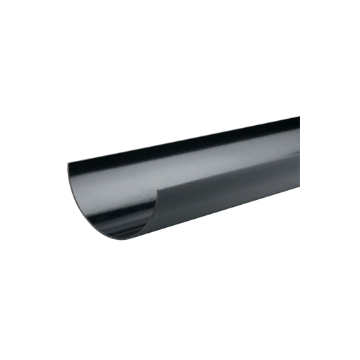 Osma SuperLine 5T574 Gutter 125mm Black 4M