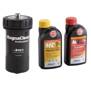 ADEY MagnaClean Professional Filter & Chemical 2pk