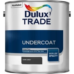 Dulux Paint Trade Undercoat Paint Dark Grey 2.5L