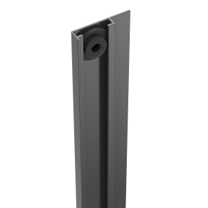 Durapost U Channel Cover Strip Anthracite Grey 2100mm Home Delivered