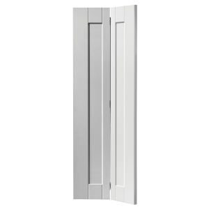Internal White Axis Primed Bifold Internal Door 35 x 1981 x 762mm