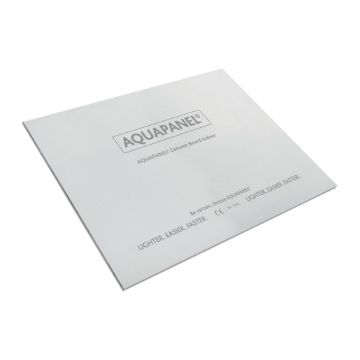 Knauf Aquapanel Interior Cement Board Square Edge 1200mm x 900mm x 12.55mm
