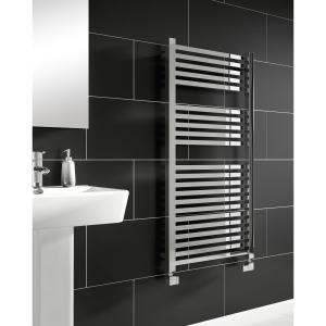 iflo Zimina Designer Towel Radiator Chrome 1200mm x 600mm