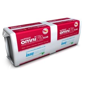 Knauf Insulation Omnifit Insulation Slab 1200mm x 600mm x 100mm