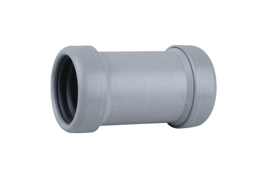 Osma Waste push-fit universal connector grey 40mm