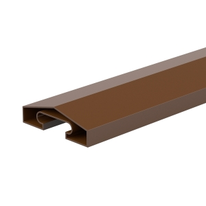 Durapost Fence Capping Rail Sepia Brown 65mm x 1830mm Home Delivered