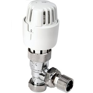 Angled Thermostatic Radiator Valves 15mm