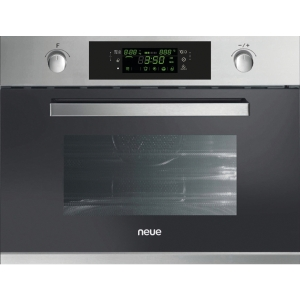 neue Integrated Compact Microwave & Grill Stainless Steel - NEG440X