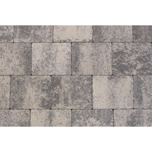 Tobermore Shannon Duo Block Paving in Slate - Two sizes in one pack. 13.86m2 coverage