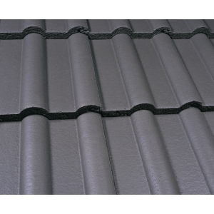 Marley Double Roman Roofing Tile Smooth Grey - Pallet of 192