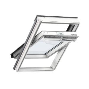 VELUX Centre Pivot Roof Window 780mm x 1180mm White Polyurethane GGL MK06 SD5N2